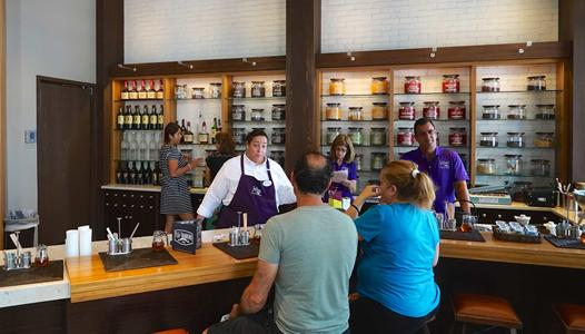 PHOTOS - The Tea Traders Cafe now open at Disney Springs The Landing