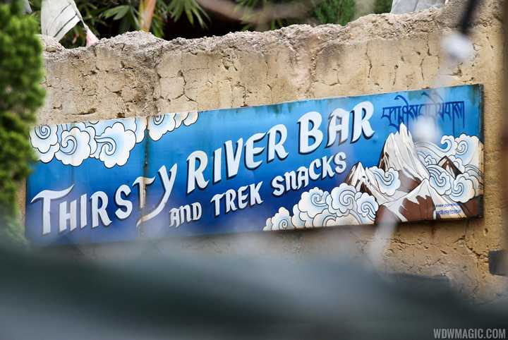 PHOTOS - Thirsty River Bar and Trek Snacks opens in December at Disney's Animal Kingdom