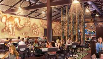 Tiffins signature restaurant opening at Disney's Animal Kingdom in spring 2016