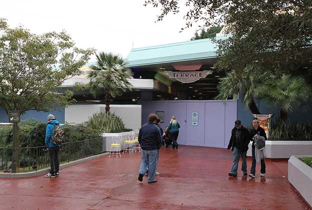 Tomorrowland Noodle Station refurbishment
