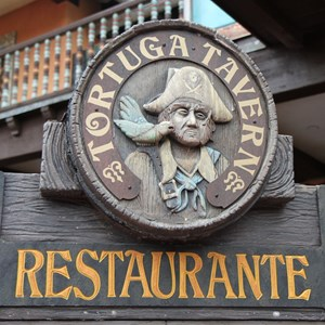 1 of 5: Tortuga Tavern - Exterior, signage and inside