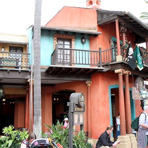 2 of 5: Tortuga Tavern - Exterior, signage and inside