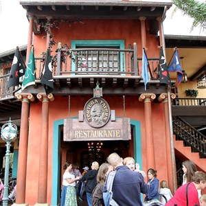 3 of 5: Tortuga Tavern - Exterior, signage and inside