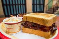 Barbecued Beef Brisket Sandwich
