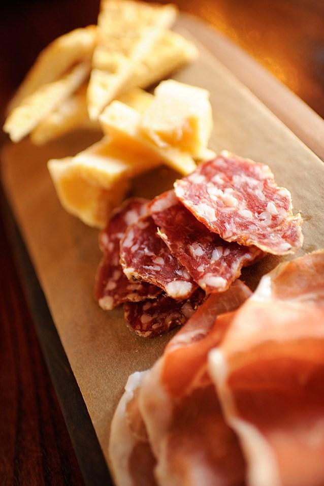 Tutto Italia Ristorante - Meats and cheese platter, Tutto Gusto