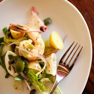 9 of 10: Tutto Italia Ristorante - Insalata di Mare Trapanese (seafood salad), Tutto Gusto