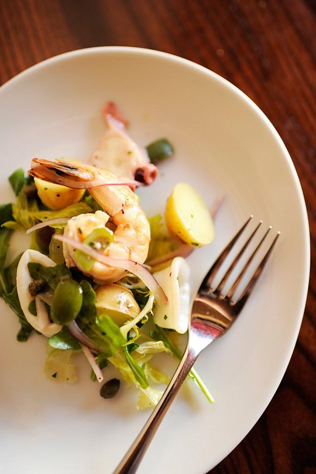 Tutto Italia Ristorante - Insalata di Mare Trapanese (seafood salad), Tutto Gusto