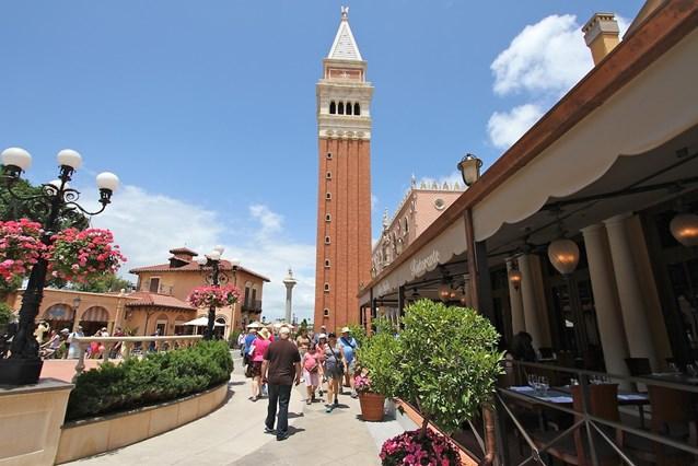 Tutto Italia Ristorante - Tutto Italia courtyard
