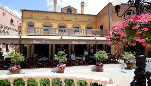 New 3 course prix-fixe lunch at Epcot's Tutto Italia Ristorante