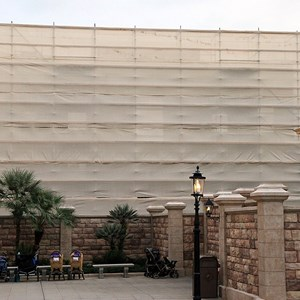 2 of 2: Tutto Italia Ristorante - Pizzeria construction scrim