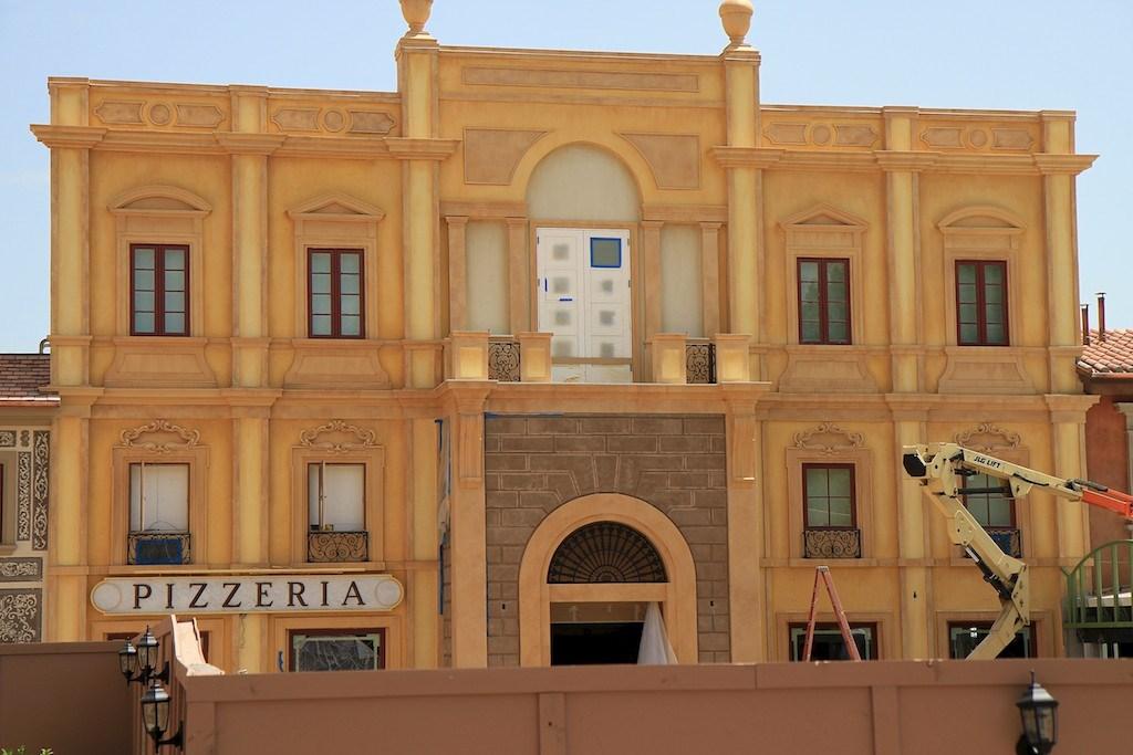 Exterior finishing and signage