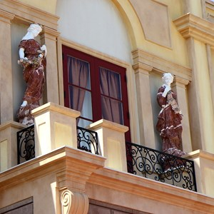 11 of 44: Via Napoli - Statues above the main entrance