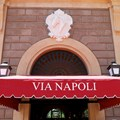 Via Napoli - The signage over the front door