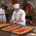 Via Napoli - 1/2 meter pizza being prepared