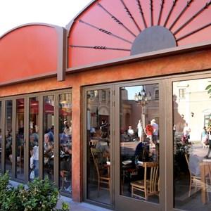 1 of 1: Via Napoli - Outdoor seating area doors