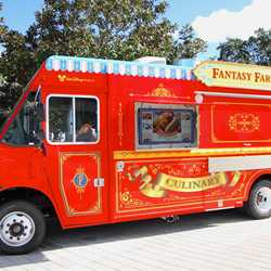 Downtown Disney West Side Food Trucks