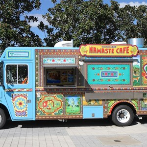 4 of 12: West Side Food Trucks at Exposition Park - Namaste Cafe food truck