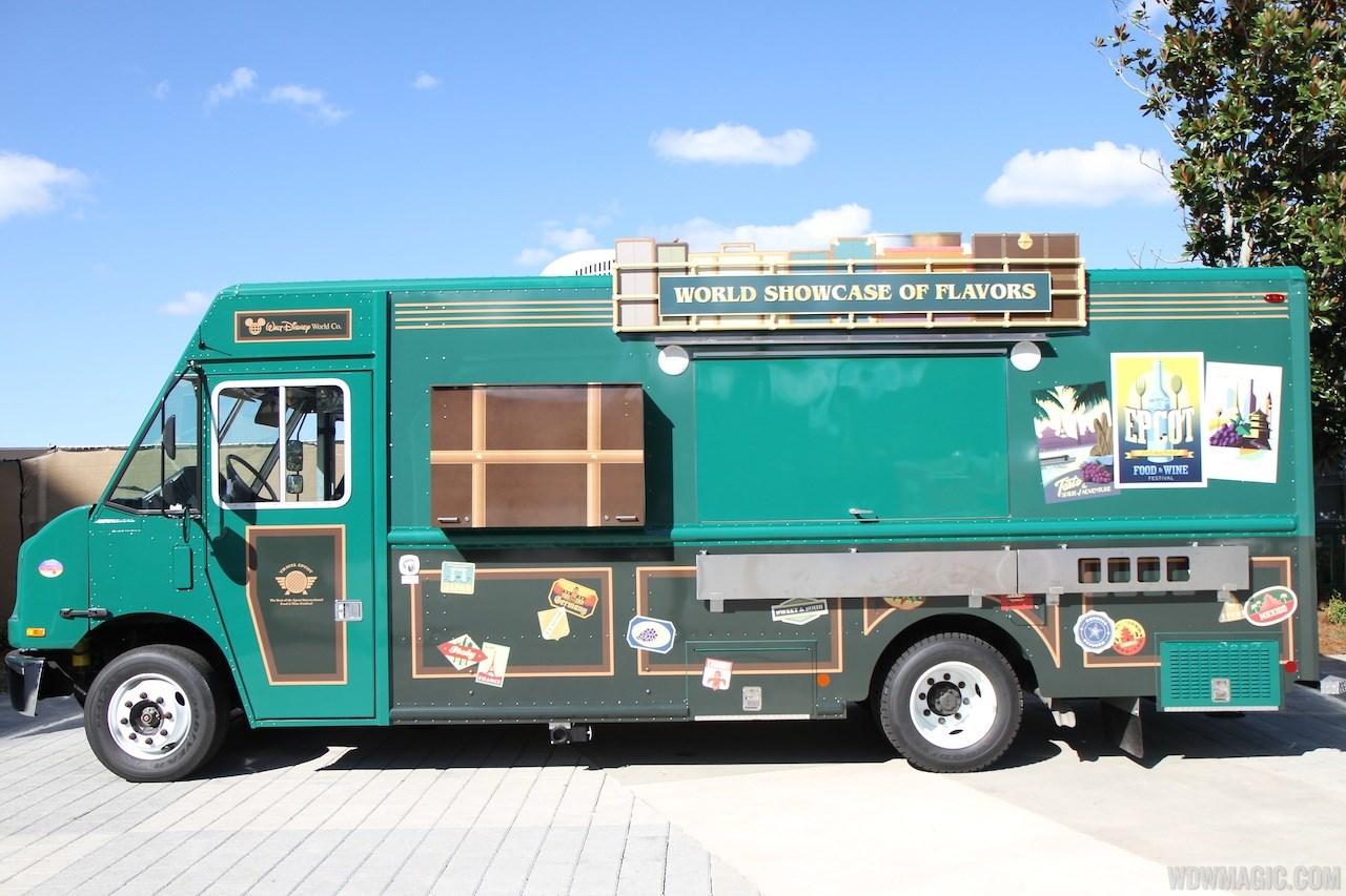 Downtown Disney West Side Food Trucks