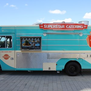 9 of 12: West Side Food Trucks - Superstar Catering food truck