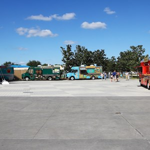 12 of 12: West Side Food Trucks at Exposition Park - Downtown Disney West Side food trucks