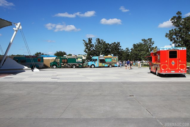 West Side Food Trucks - Downtown Disney West Side food trucks