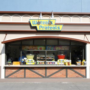 2 of 6: Wetzel's Pretzels and Haagen Dazs - West Side Wetzel's Pretzels kiosk open