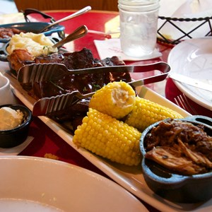 2 of 5: Whispering Canyon Cafe - Whispering Canyon Cafe - All-You-Care-To-Enjoy Family Platter