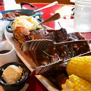 3 of 5: Whispering Canyon Cafe - Whispering Canyon Cafe - All-You-Care-To-Enjoy Family Platter