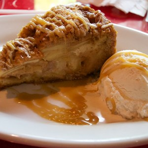5 of 5: Whispering Canyon Cafe - Whispering Canyon Cafe - Apple Caramel pie