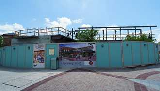 PHOTOS - Latest look at Wine Bar George under construction at Disney Springs
