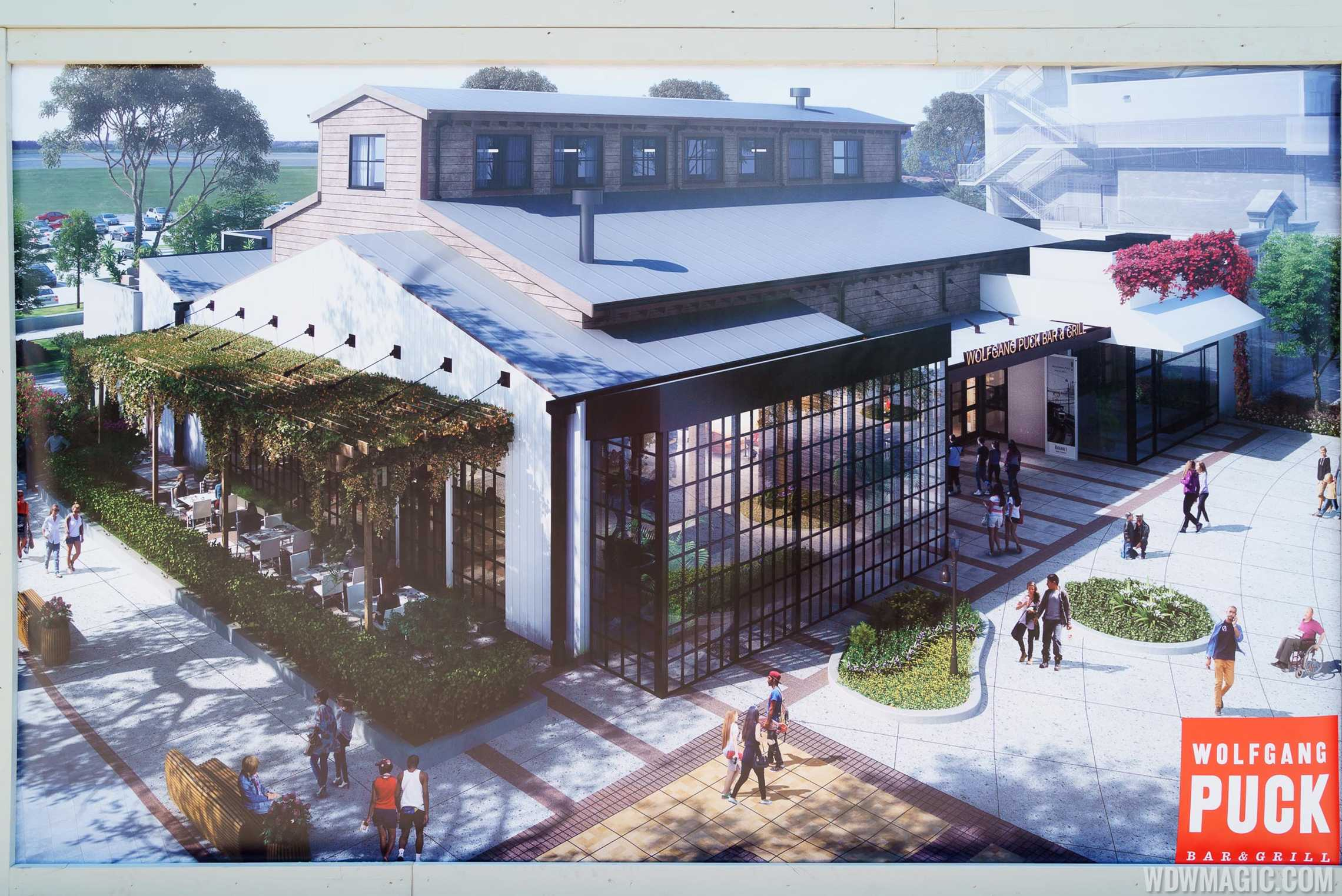Wolfgang Puck Bar and Grill concept art - Exterior