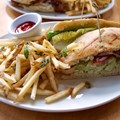 Wolfgang Puck Express - Marketplace - Wolfgang Puck Express Marketplace - Pesto Chicken Salad sandwich
