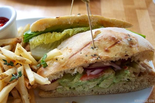 Wolfgang Puck Express - Marketplace - Wolfgang Puck Express Marketplace - Pesto Chicken Salad sandwich