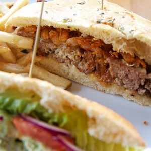 13 of 16: Wolfgang Puck Express - Marketplace - Wolfgang Puck Express Marketplace - Meatball sandwich