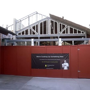1 of 1: Wolfgang Puck Express - Marketplace - Wolfgang Puck Express refurbishment construction