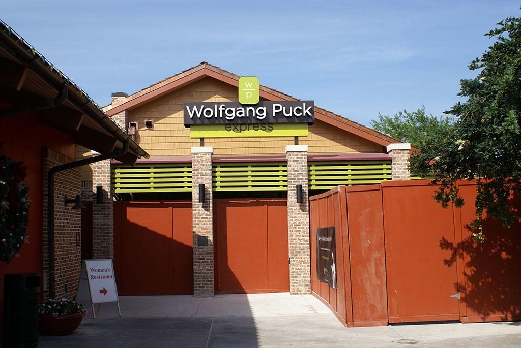 Wolfgang Puck Express refurbishment construction