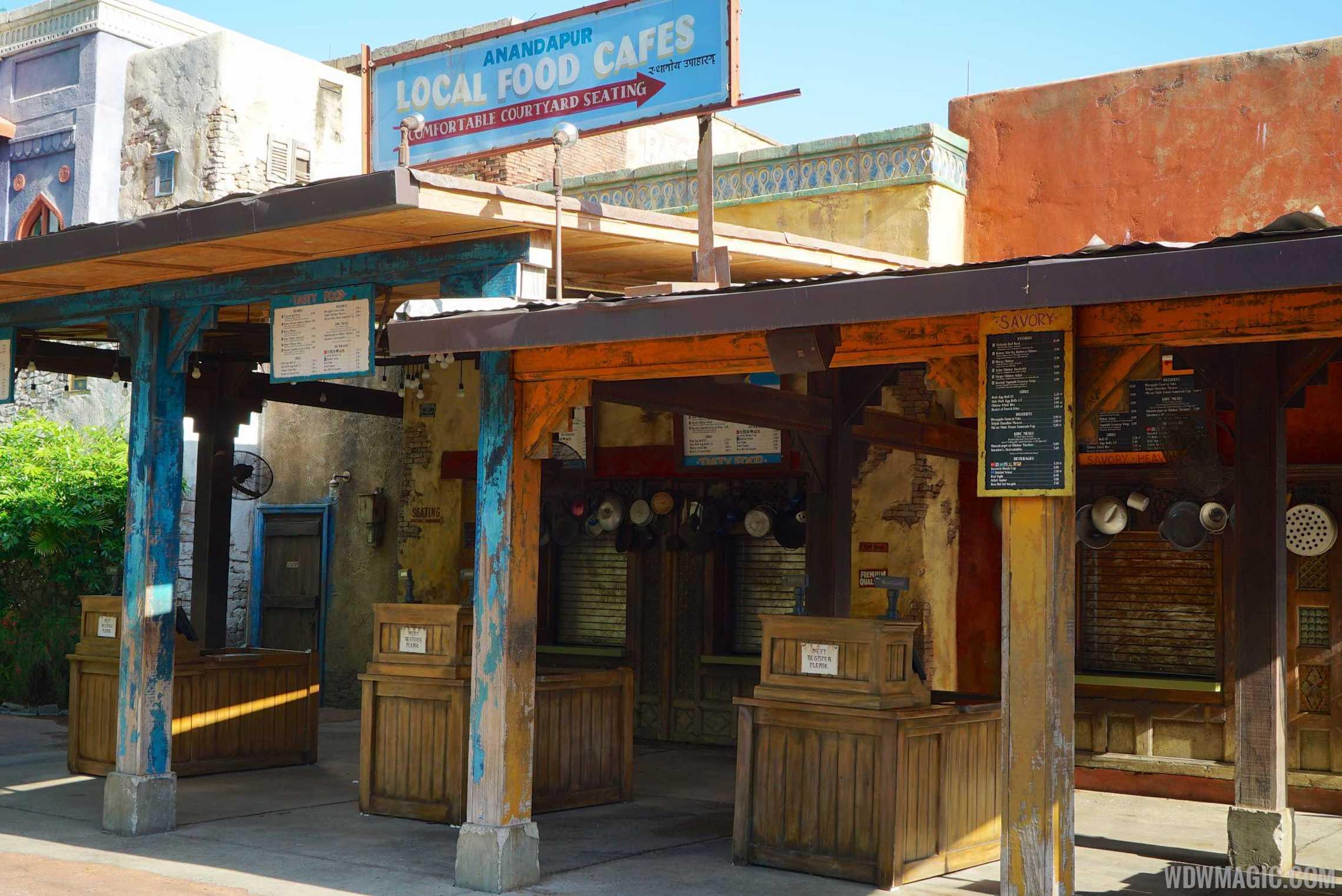 Yak and Yeti Local Foods counter