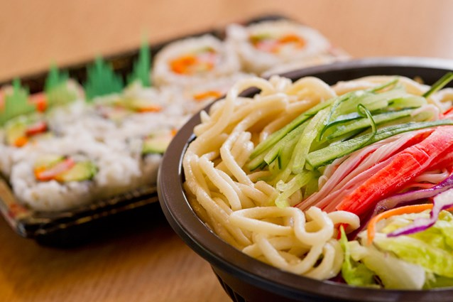 Katsura Grill - Cold ramen noodle dish