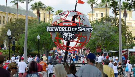 Invictus Games athletes appearing at the Magic Kingdom