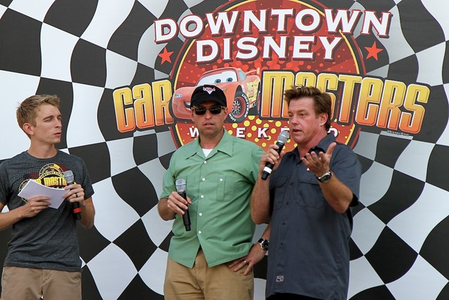 Car Masters Weekend - Jay Ward (Disney-Pixar Cars guardian) and custom car designer Chip Foose