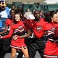 ESPN The Weekend - ESPN Weekend cheerleaders with Chad Ochocinco