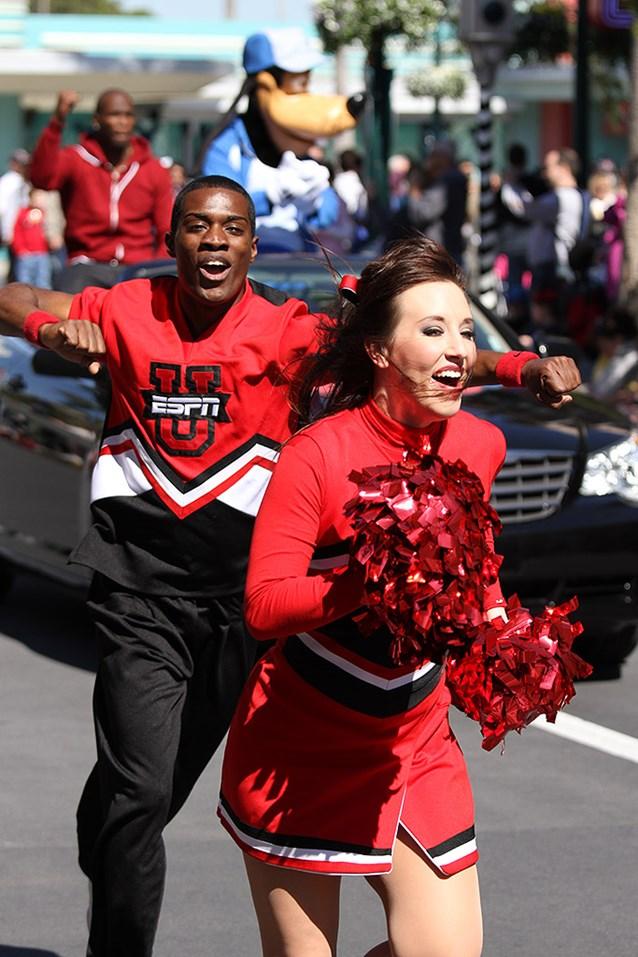 ESPN The Weekend - ESPN Weekend cheerleaders with Chad Ochocinco