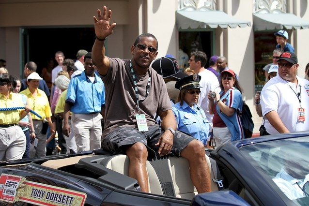 ESPN The Weekend - NFL Motorcade - Hall of Fame Legend Tony Dorsett