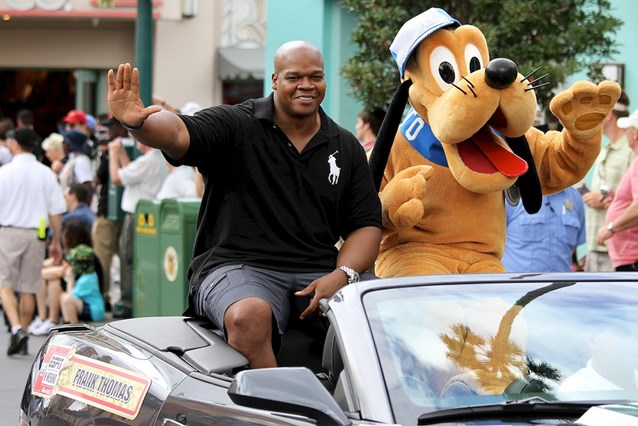 ESPN The Weekend - Baseball Legends Motorcade - Frank Thomas