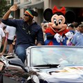 ESPN The Weekend - Baseball Legends Motorcade - Bernie Williams