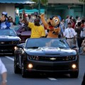 ESPN The Weekend - NBA Legends Motorcade - Gary Payton