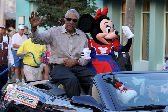 ESPN The Weekend - NBA Legends Motorcade - Julius Erving