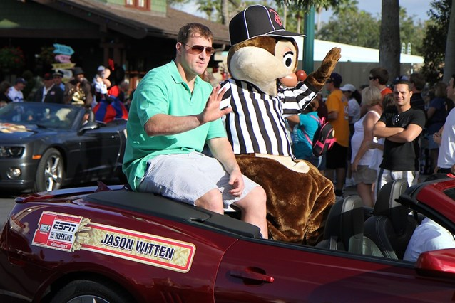 ESPN The Weekend - NFL Motorcade - Jason Witten