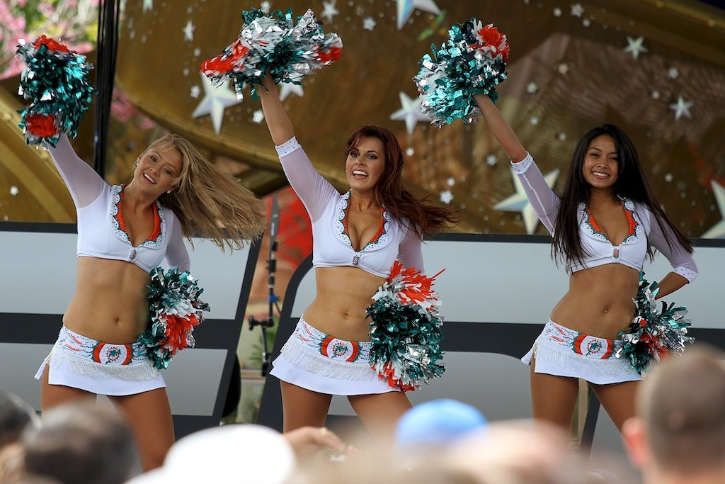 2011 ESPN The Weekend - Day 2 - Miami Dolphins Cheerleaders