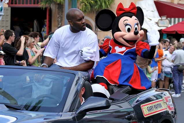 ESPN The Weekend - NBA Motorcade - Gary Payton